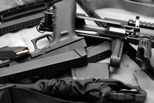 Firearm In Mess