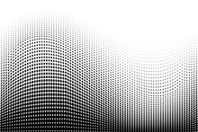 Light Halftone Dots Pattern Te...