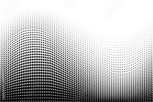 Cuadros en Lienzo Light halftone dots pattern texture background