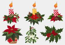 Christmas Decoration, Candle, ...