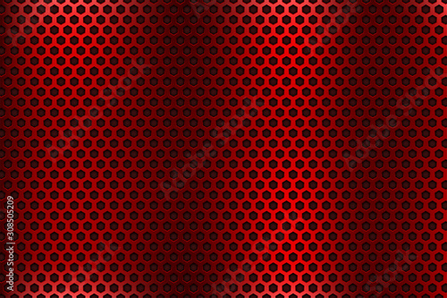 Red metal perforated background Tapéta, Fotótapéta