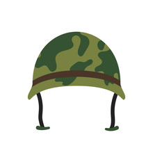 Army Hat Vector Icon