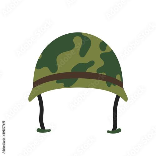 Fototapeta Army hat vector icon