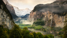 Lauterbrunnen Valley And Staub...