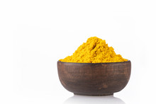 Curry Powder In A Bowl - White...