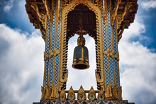 A Thai Traditional Bell Tower ...