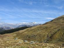 View To Ben Nevis From Westhighland Way, Scotland, Europe.