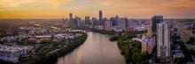 Austin Skyline Panoramic Photo...