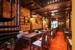 3d render of cafe restaurant