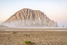 Morro Rock. Morro Bay, California, USA.
