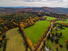 Fall Foliage Seen From The Air...