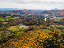 Dramatic Fall Foliage Seen Fro...