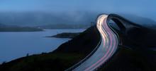 Car Lights Trails On Storseisu...