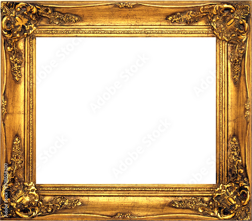 Photo antique isolated golden frame pictures