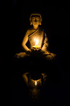 Buddha Sitting In Meditation P...