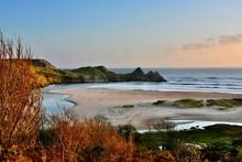 Three Cliffs Bay, The Gower, S...