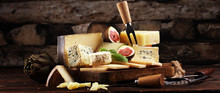 Different Sorts Of Cheese. Che...