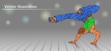Teen Dancer, Personage, Vector