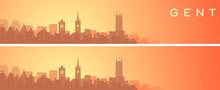 Ghent Beautiful Skyline Scener...