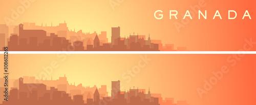Granada Beautiful Skyline Scenery Banner
