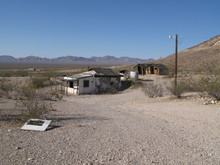 Ghost Town Death Valley California Usa Backroad