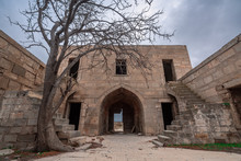 The Ancient Abandoned Garachi Caravanserai, Refers To The XIV Century, Located In Azerbaijan