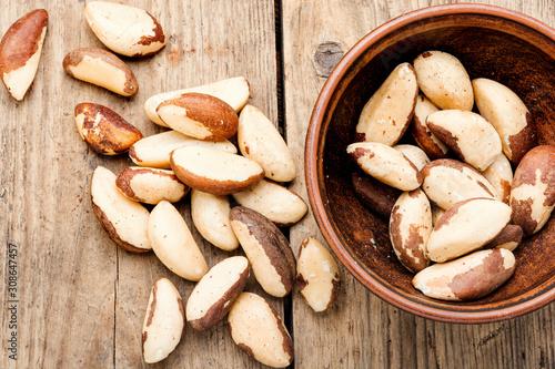 Obraz Brazil nut or Bertholletia - fototapety do salonu