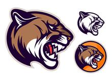 Cougar Head Emblem
