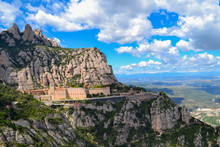 The Montserrat Monastery In Spaine