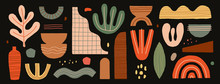 Collection Of Abstract Graphic...