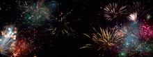 Feuerwerk In Allen Möglichen ...