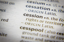 Word Or Phrase Cession In A Di...