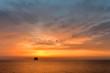 Insel bei Sonnenaufgang