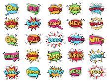 Comic Speech Bubble. Cartoon C...