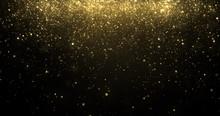 Gold Glitter Confetti Particle...