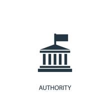 Authority Icon. Simple Element...