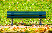 Wooden Parkbench