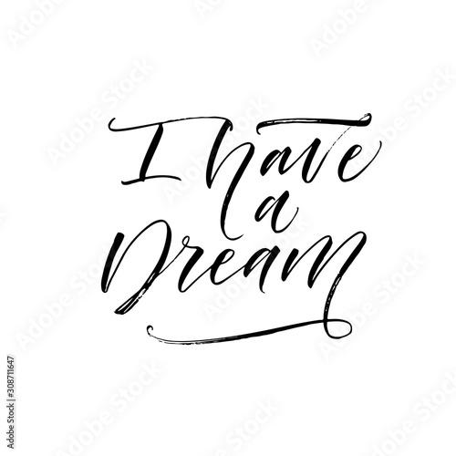Fotografia, Obraz I have a dream postcard