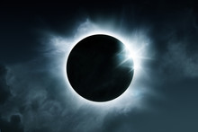 A Solar Eclipse. The Total Ecl...