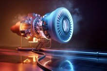 Futuristic Jet Engine Technolo...