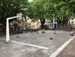 Ein Spielplatz in Amsterdam