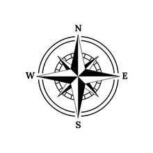 Compass Logo, Icon And Symbol....