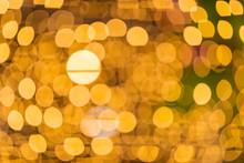 Blurred Bokah Of Light Wall