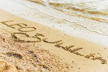 An Inscription On The Sand By ...