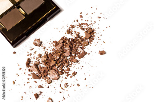 brown eye shadow palette