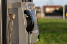 Close Up Of A Telephone In An ...