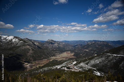 overlook at rocky mountain national park