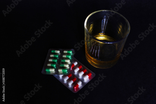 Photo Antidepressants and alcohol