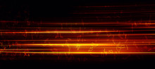 Abstract Motion Glowing Light ...