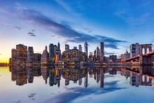 New York City Lower Manhattan ...